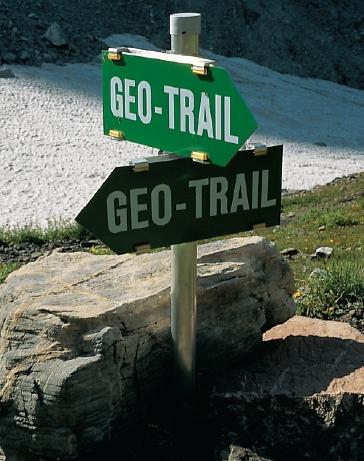 Geo-Trail an der Eduard-Pichl-Huette