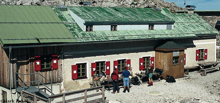 Wiener-Neustädter-Hütte Wettersteingebirge