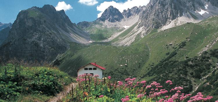 Steinseehütte Lechtaler Alpen