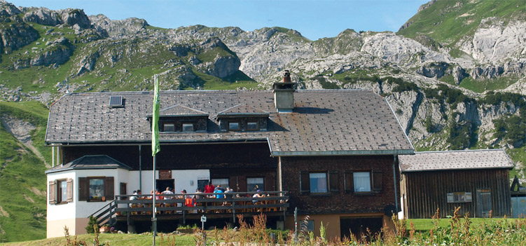 Biberacher Huette Lechquellengebirge