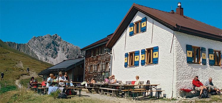 Kaiserjochhaus Lechtaler Alpen