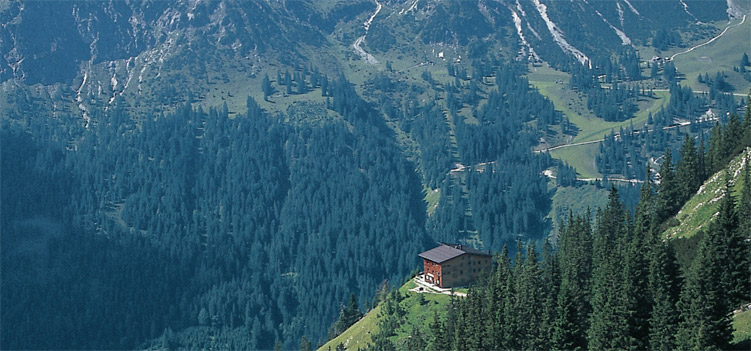 Gimpelhaus Tannheimer Berge