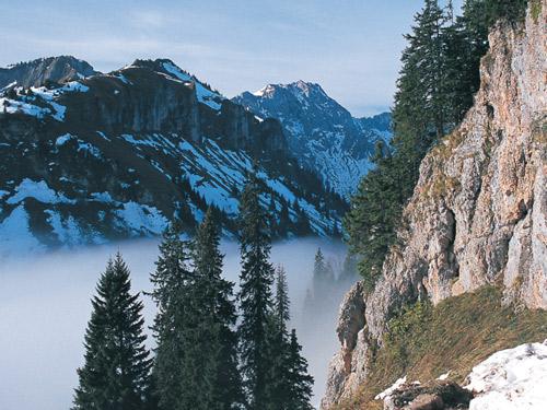 Huettenwandern Ammergauer Alpen