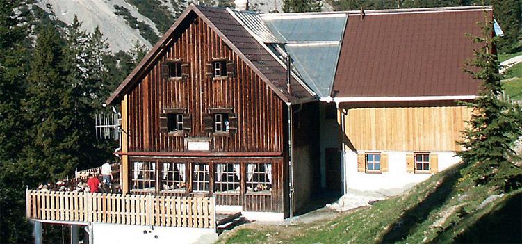 Otto-Mayr-Huette Allgaeuer Alpen
