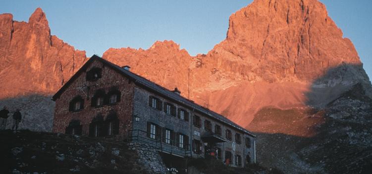 Lamsenjochhuette Tirol
