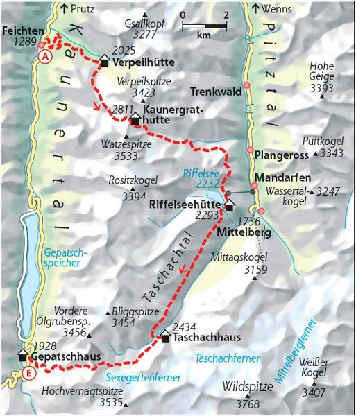 Hohenweg Kaunergrat