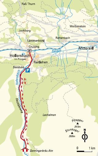 Wanderung Hollersbachtal